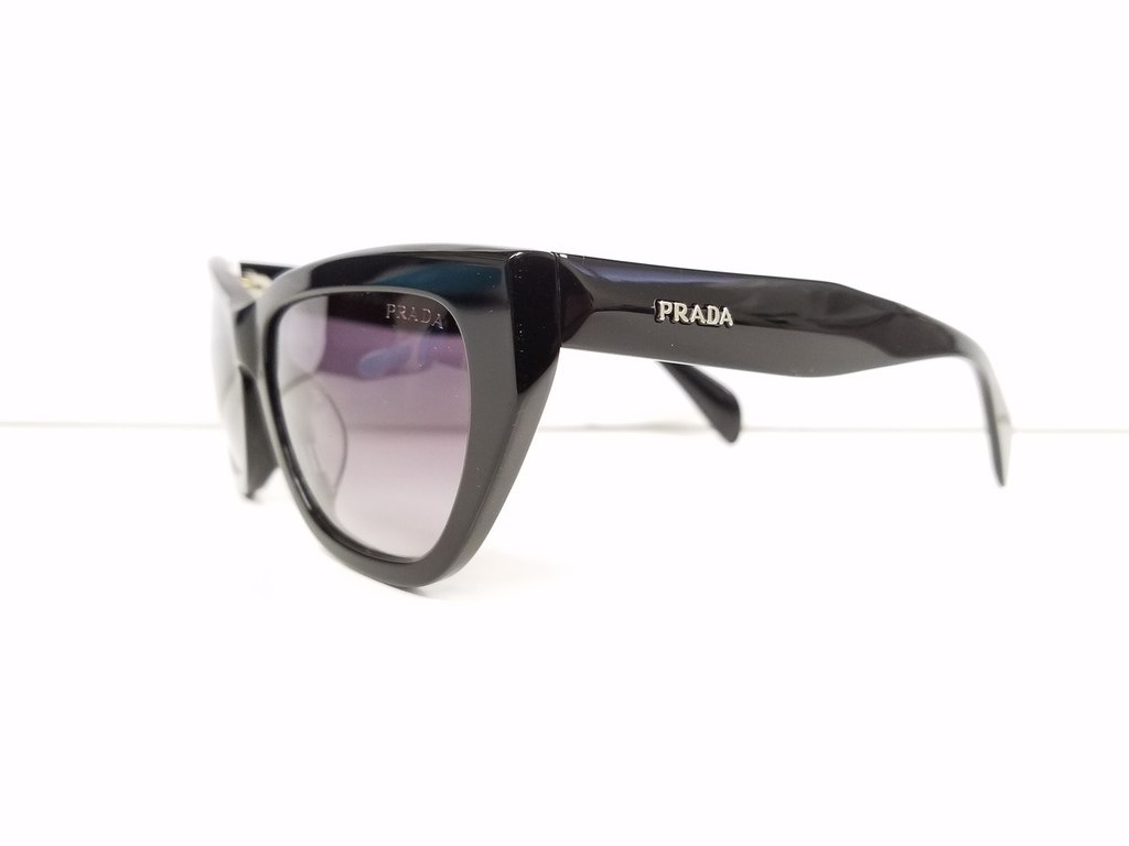 009004d537e7 Prada Black Cat Eye Sunglasses