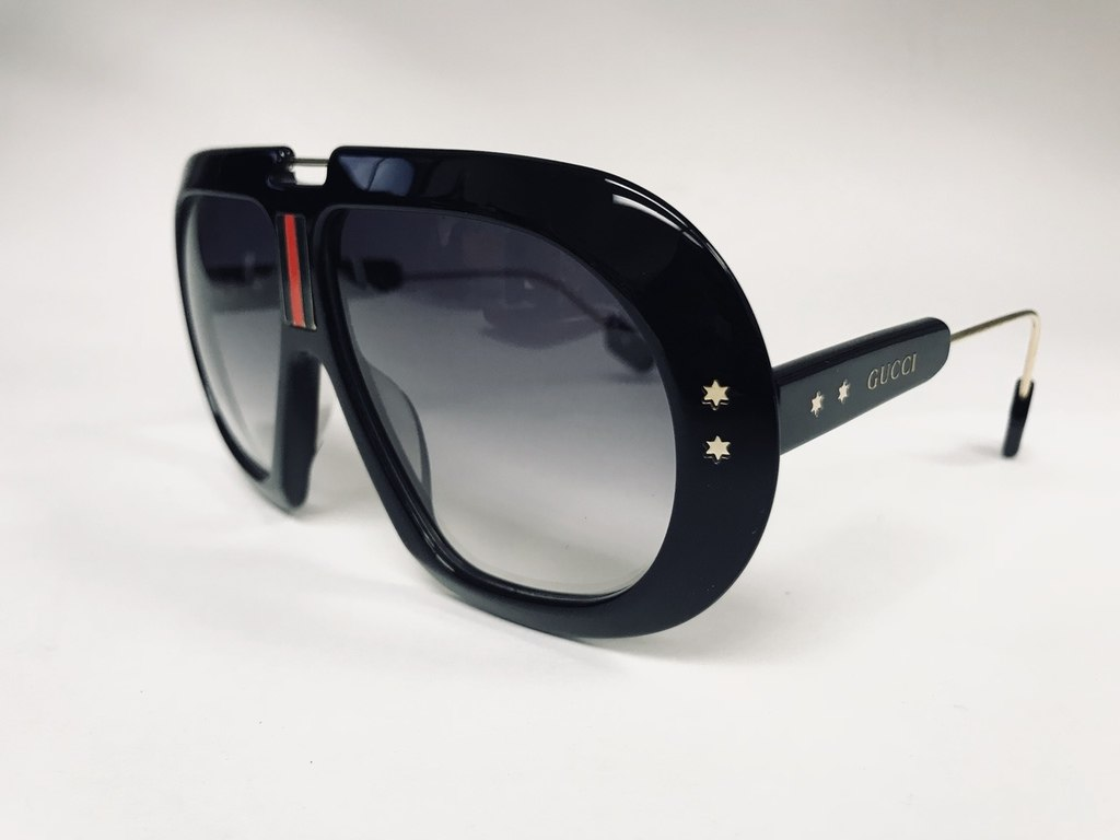 5db39d60413e Black Gucci Acetate Sunglasses