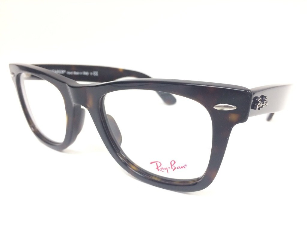 2705f4c6a836 Ray-Ban RB5152 Tortoise Shell Wayfarer Prescription Optical Frame