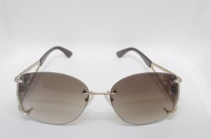 Cavair Gold/Brown Sunglass Fame