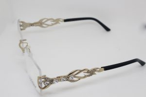 Caviar Rimless Optical Frame