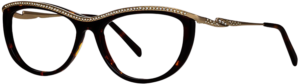 Caviar M4403 Havana Cat Eye Eyeglasses