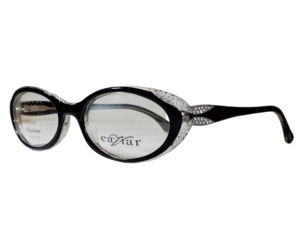 Caviar M6173 Black Cat Eye Eyeglasses