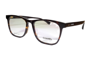 Chanel G8028 Havana Square Eyeglasses