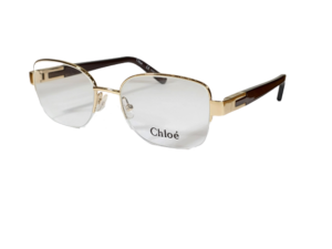 Chloe CE2119 Semi-Rimless Gold Eyeglasses