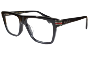 Gucci GG0527O Shiny Black Square Eyeglasses