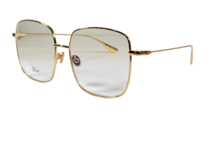 Christian Dior Stellaire 1 | Gold and Clear Lens Eyeglasses